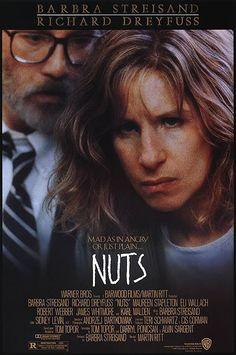 Nuts (1987) starring Barbra Streisand & Richard Dreyfuss