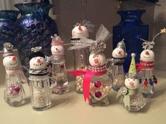 53 Most Trendy Christmas Decorating with Snowmen to Perfect Your Home Christmas Banners, Diy Christmas Ornaments, Homemade Christmas, Christmas Snowman, Winter Christmas, Christmas Tree Decorations, Vintage Christmas, Christmas 2019, Table Decorations