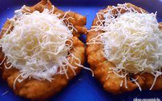Hűtős lángos recept fotóval Hungarian Recipes, Hungarian Food, Onion Rings, Kefir, Mashed Potatoes, Cabbage, Grains, Food And Drink, Rice