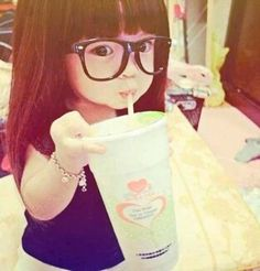 Awwww how cute. She kinda reminds me of Edna from The Incredibles movie :-)