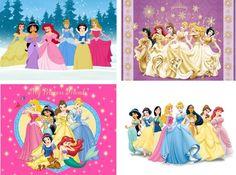 Lot Of 12 Disney Princess Fabric Panel by CraftyDesignNBargain, $12.99