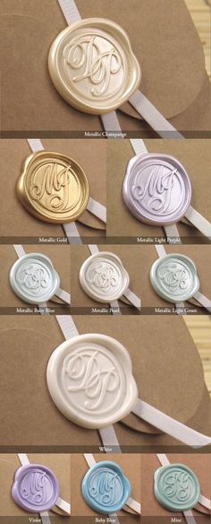 Awesome wax seal colors!!!