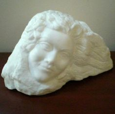 Stone Carved Sculpture Alabaster  Abstract by SharsArtPottery, $450.00
