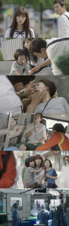 [Spoiler] 'Doctors' Kim Rae-won saves pregnant woman, Park Shin-hye has crush on him
