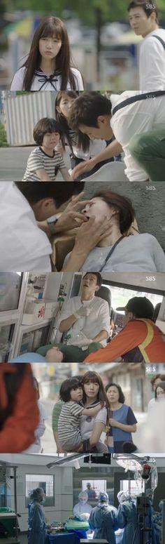 [Spoiler] 'Doctors' Kim Rae-won saves pregnant woman, Park Shin-hye has crush on him