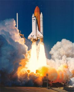 space shuttle taking off - photo #18