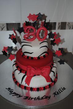 30th Birthday Cake purdy!