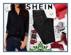 """""""SheIn Contest"""" by kanita-b ❤ liked on Polyvore featuring Dsquared2 and Bobbi Brown Cosmetics"""