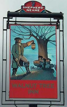 The Walnut Tree Inn. ~ catching the smugglers