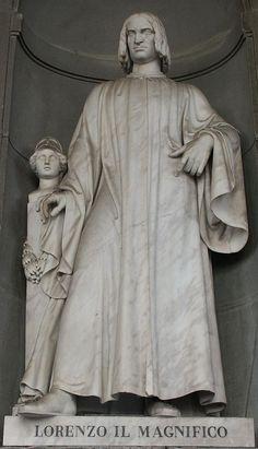 Firenze - Galleria degli Uffizi - Lorenzo il magnifico