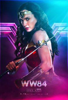 1984 Movie, Gal Gadot Wonder Woman, Wonder Woman Movie, Movie Subtitles, I Love Girls, Marvel Dc, Movies Online, Poster Prints, Posters