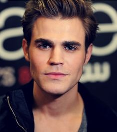 Paul Wesley. Good gracious this fella is handsome.