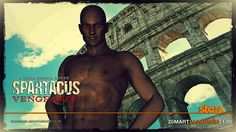 spartacus doctore character .... 3ds max (modeling) + pixlr express ( global colours and effects ) + photoshop ( comicbook effect )