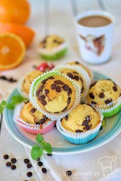 Anyżkowo: Muffinki z czekoladą bez użycia miksera