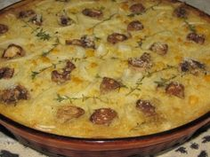 Mieliepap Tert (Corn Tart) baked in the oven Recipe - South African Magazine - SA PROMO Braai Recipes, Oven Recipes, Fudge Recipes, Meat Recipes, Cooking Recipes, Vegetarian Cooking, Yummy Recipes, South African Braai, South African Dishes
