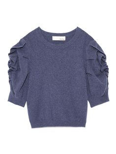 パワーショルダーニットプルオーバー(プルオーバー)|Lily Brown(リリーブラウン)|ファッション通販|ウサギオンライン公式通販サイト