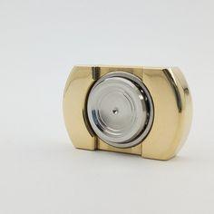 Flat Top V1 - Brass 9mm // Ceramic Hybrid