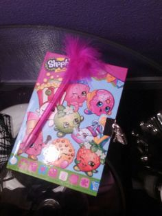 Hey, I found this really awesome Etsy listing at https://www.etsy.com/listing/269462870/shopkins-diary-and-fuzzy-pen-set