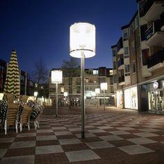 armatuur Lampenkap - de huiskamer op straat