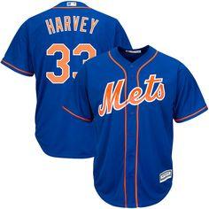 Matt Harvey New York Mets Majestic Big & Tall Alternate Official Cool Base Player Jersey - Royal/Orange - $119.99