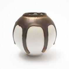 Contemporary Ceramics Centre - Mini Moon Jar - Adam Buick Moon Jar, Chinoiserie Wallpaper, Paper Moon, Contemporary Ceramics, Buick, Ceramic Pottery, Jars, Glaze, Centre