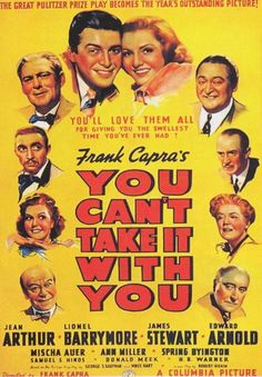 You Can't Take It With You (1938) - Academy Award, Best Picture http://www.imdb.com/title/tt0030993/