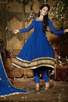 Blue Georgette Anarkali Suit, http://www.junglee.com/dp/B00IZGLS7K/ref=cm_sw_cl_pt_dp_B00IZGLS7K