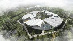 Image 1 of 10 from gallery of CEBRA Wins Competition to Design Smart School in Russia. Courtesy of CEBRA architecture