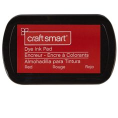 Craft Smart Dye Ink Pad, Red
