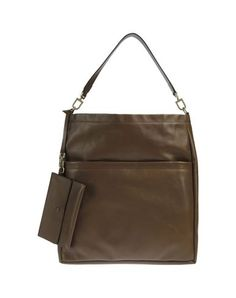 Brunello cucinelli Women - Handbags - Large leather bag Brunello cucinelli on YOOX USA 1135$