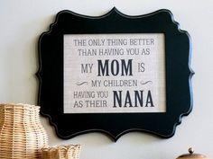 Nana gift Mimi Grandma Mothers Day gift by abidingwordcreations, $18.00