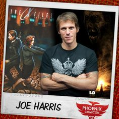 Joining us at Phoenix Comicon 2014 is screenwriter and comic book writer, Joe Harris! Known for his screenplay of the movie Darkness Falls, Joe is also known for his many creator-owned comic projects including Ghost Projekt with Oni Press, the graphic novel Wars in Toyland, and the mini series Spontaneous. Currently, Joe is the writer for Image Comics' comic book series Great Pacific, and IDW Publishing's The X-Files: Season 10. Take a look at Joe's website www.joeharris.net.