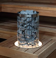 Harvia Cilindro Valaistu upotuskaulus HPC2L - Talotarvike.com Sauna Steam Room, Sauna Room, Finnish Sauna, Led, Montage, Table Lamp, Saunas, Basement, Bathrooms
