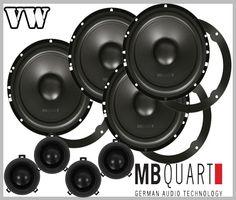 VW Touran 2003 - 2014 car speakers upgrade kit best in test in the German Autohifi magazine test winner boost your car stereo sound Radios, Vw Passat B5, Vw Touran, Speaker Kits, Rear Speakers, Beetle Car, Vw Cars, Car Audio, German
