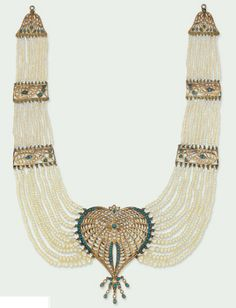 Necklace India, early 20th century, now @ Christie's