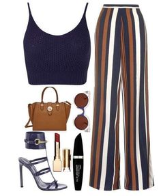 Consigli di stile 2017 - Look caldo con pantapalazzo