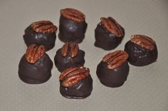 Kentucky Bourbon Balls Candy Truffles Chocolate ,12 by PetitCookieShop on Etsy