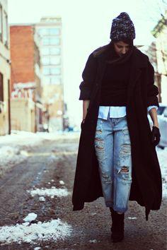 Oversized Coat. Fall Fashion 2013. #fallfashion #oversizedcoat #trends