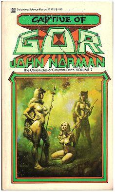 Captive of Gor by John Norman ISBN 0-7592-0105-6