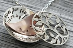 You'll be with me / Grandma Mother Daughter Necklace / Three Generations /Mother & Daughter / Tree of Life / Mom Necklace