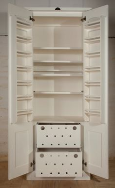 Swedish Style Grocery Cupboard, interior
