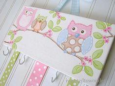 Owl Hairbow Holder