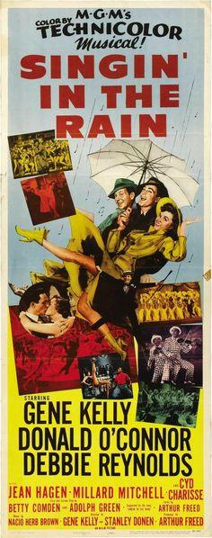 Singin' in the Rain (1952) Gene Kelly, Donald O'Connor, Debbie Reynolds