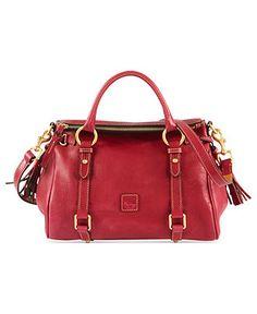 Dooney & Bourke Handbag, Florentine Vachetta Small Satchel - Dooney & Bourke - Handbags & Accessories - Macy's
