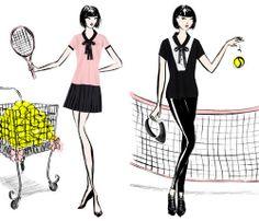 Chantal Thomass x Roland Garros, la féminité sur terre battue