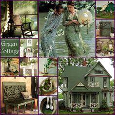 '' Chantilly Green Cottage '' By Reyhan Seran Dursun