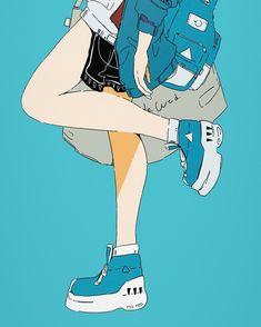 Pretty Art, Cute Art, Aesthetic Art, Aesthetic Anime, Character Art, Character Design, Arte Peculiar, Pastel Art, Anime Art Girl