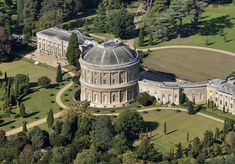 Ickworth House outside Bury St. Edmunds, Suffolk, begun in 1795. This brings back memories-my aunt lives behind this home and I had many adventures in the woods surrounding this home. :')