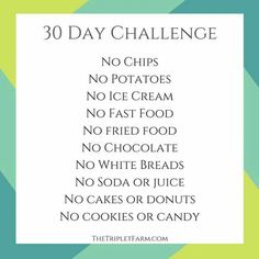 30 Day Challenge | Posted by NewHowtoLoseBellyFat.com