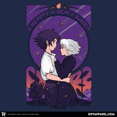 Something I Want to Protect T-Shirt - Howl's Moving Castle T-Shirt is $11 today at Ript!
